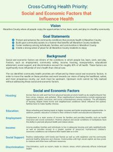Social & Economic Factors